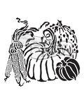 The Crafter\u0027s Workshop Carmen Medlin 6\u0027\u0027x6\u0027\u0027 Stencil-Harvest Pumpkins