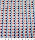 Quilter\u0027s Showcase Cotton Fabric-Honeycomb Red Blue