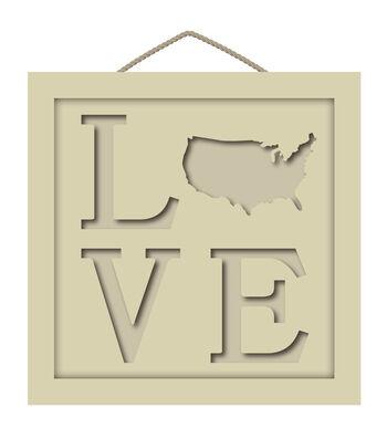Camp Ann Crafts Framed Love Shadowbox