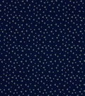 Quilter\u0027s Showcase Fabric -Triangle on Navy