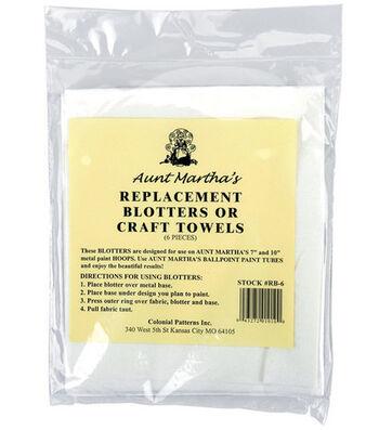 Aunt Martha's Replacement Blotters-6/Pkg