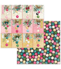 Christmas In The Village Double-Sided Cardstock 12\u0022X12\u0022-Ornaments