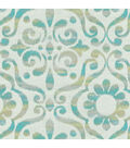 Dena Home Multi-Purpose Decor Fabric-Dancing Damask/Reef
