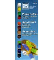 Loew Cornell Watercolor Paint Set-12 Colors, , hi-res