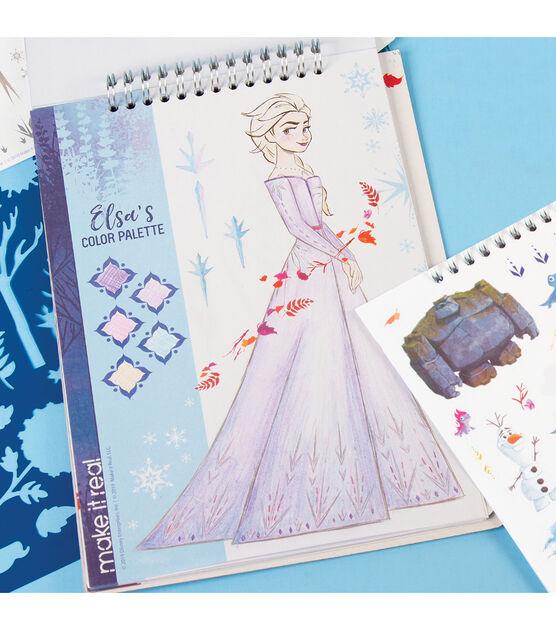 Disney Make It Real Frozen 2 Fashion Design Sketchbook Joann