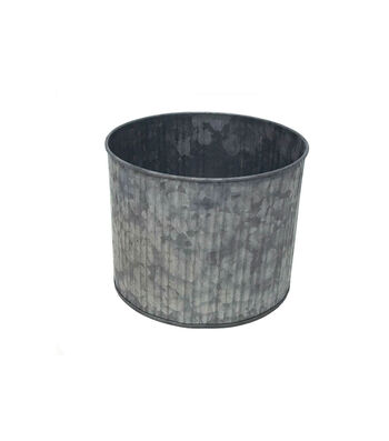 "6"" Ribbed Galvanized Cylinder"