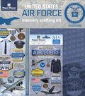 Paper House U.S. Military 12\u0027\u0027x12\u0027\u0027 Memory Crafting Kit-Airforce