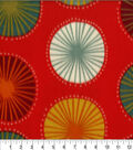 Anti-Pill Fleece Fabric 59\u0022-Autumn Geo