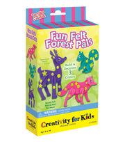 Creativity For Kids Fun Felt Forest Pals Kit, , hi-res