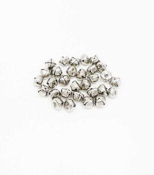 Silver Jingle Bells-30 Pack