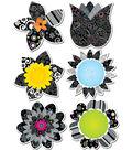 BW Flowers 6\u0022 Designer Cut-Outs