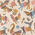 Waverly Upholstery Décor Fabric 9\u0022x9\u0022 Swatch-Marimba Mineral