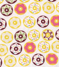 Snuggle Flannel Fabric -Frosted Donuts