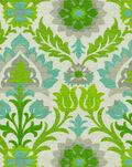Waverly Outdoor Fabric-Sns Santa Maria  Mint Julep