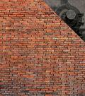 Wizard Double-Sided Cardstock 12\u0022X12\u0022-Brick Wall