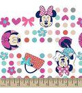 Disney Minnie Mouse Print Fabric-Minnie Dots