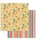 Photoplay Paper Paprika Double-Sided Cardstock 12\u0027\u0027x12\u0027\u0027-Llama Drama