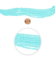 "Blue Moon Beads 14"" Strand Glass Seed Bead Muted Turquoise, , hi-res"