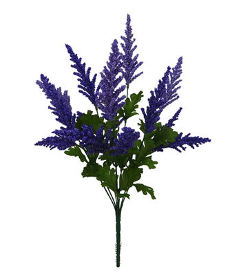 Fresh Picked Spring 19'' Berry Bush-Purple