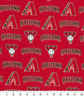 Arizona Diamondbacks Cotton Fabric -Logo