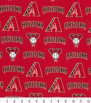 Arizona Diamondbacks Cotton Fabric -Logo, , hi-res