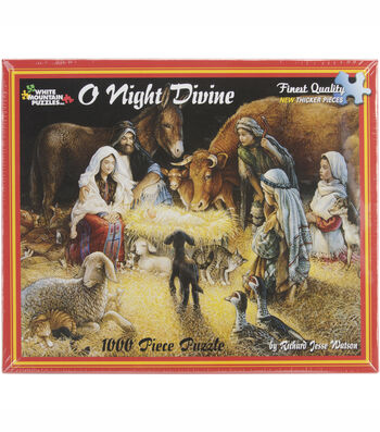 White Mountain Puzzles Jigsaw Puzzle O Night Divine