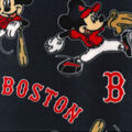 Boston Red Sox Fleece Fabric-Mickey