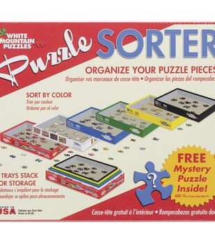 White Mountain Puzzles Puzzle Sorter