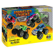 Creativity for Kids Monster Trucks Custom Shop, , hi-res