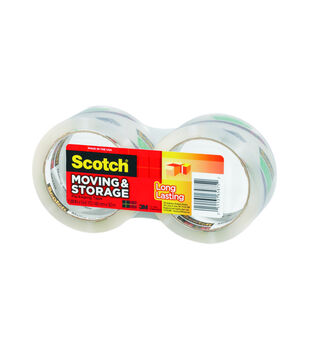 Scotch 2 pk Long Lasting Moving & Storage Packaging Tapes