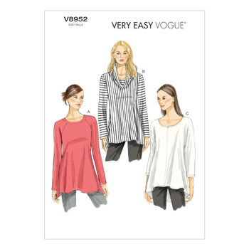 Vogue Patterns Misses Top-V8952