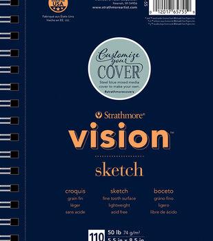 "Strathmore 5.5""x8.5"" Vision Sketch Pad"