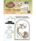Dreamerland Crafts Clear Stamp Set 4\u0027\u0027x4\u0027\u0027-Can\u0027t Say Enough