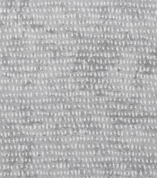 Keepsake Calico Cotton Fabric 43''-Mini Brush Strokes on Light Gray