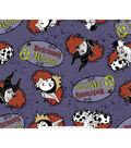 Disney Villains Halloween Fleece Fabric 59\u0022-Deliciously Wicked