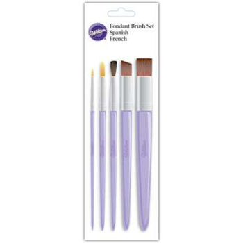 Decorating Brush 5pc Set