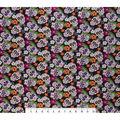 Super Snuggle Flannel Fabric-Floral Skeleton Tossed