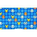 Pokemon Micro Velvet Fleece Fabric-Poke Face