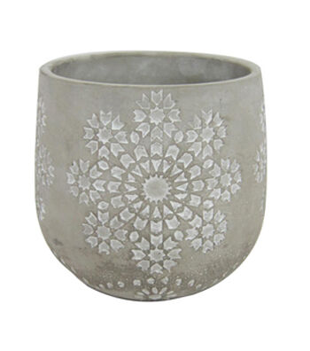 Fresh Picked Spring Cement Planter Vase