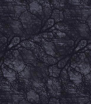 Halloween Cotton Fabric-Midnight Forest
