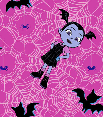 Disney Junior Vampirina Cotton Fabric -Proud Vampirina