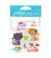 Jolee's Boutique Stickers-Kitties, , hi-res