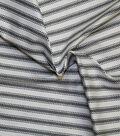 Roc-lon Ticking Muslin 30 yds-Black Stripe
