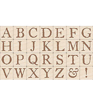 Legacy Letters Alphabet Stamps