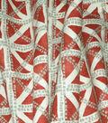 Waverly Multi-Purpose Decor Fabric 54\u0022-Squared Away Coral