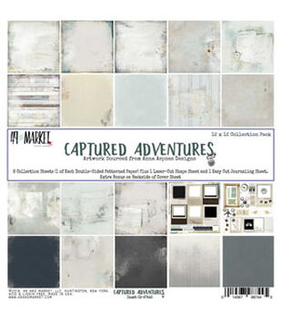 49 And Market Captured Adventure 12''x12'' Collection Pack