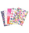 Paige Evans Pink Paislee Single-Sided Paper Pad 6\u0022X8\u0022 36/Pkg-Horizon