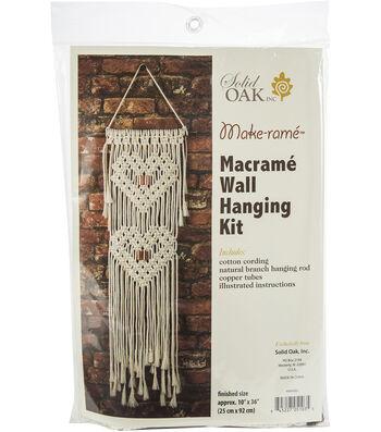 Macrame Wall Hanger Kit-Hearts