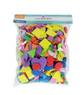 Little Makers Solid And Glitter Foam Glitter-Shapes