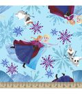 Disney Frozen Print Fabric-Ice Skating